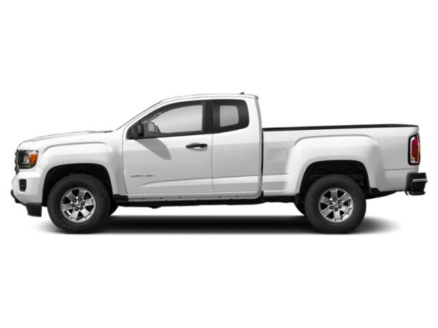 Summit White 2019 GMC Canyon Pictures Canyon 2WD Ext Cab 128.3 SL photos side view