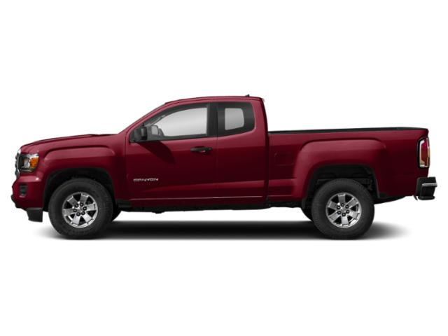 Red Quartz Tintcoat 2019 GMC Canyon Pictures Canyon 4WD Ext Cab 128.3 All Terrain w/Leather photos side view
