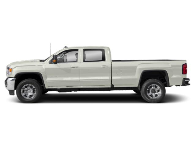 White Frost Tricoat 2019 GMC Sierra 3500HD Pictures Sierra 3500HD 2WD Crew Cab 167.7 SLE photos side view