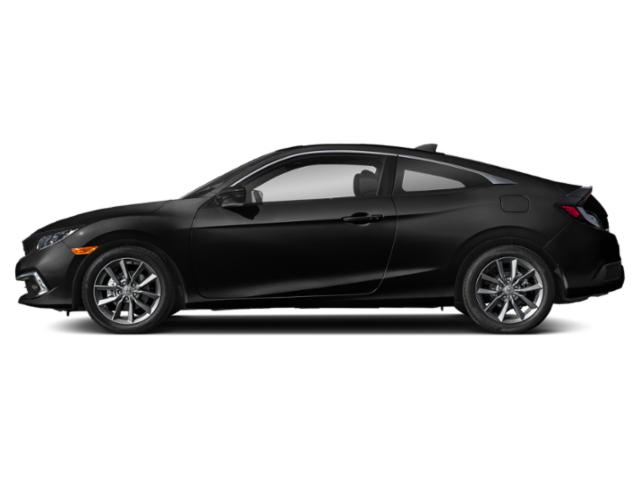 Crystal Black Pearl 2019 Honda Civic Coupe Pictures Civic Coupe EX CVT photos side view