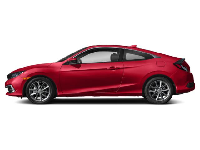 Rallye Red 2019 Honda Civic Coupe Pictures Civic Coupe EX CVT photos side view
