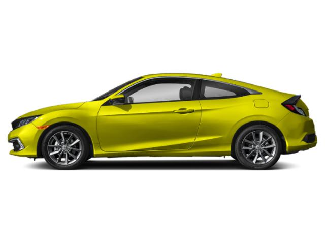 Tonic Yellow Pearl 2019 Honda Civic Coupe Pictures Civic Coupe EX CVT photos side view