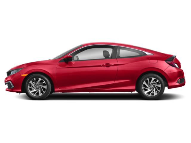 Rallye Red 2019 Honda Civic Coupe Pictures Civic Coupe LX CVT photos side view