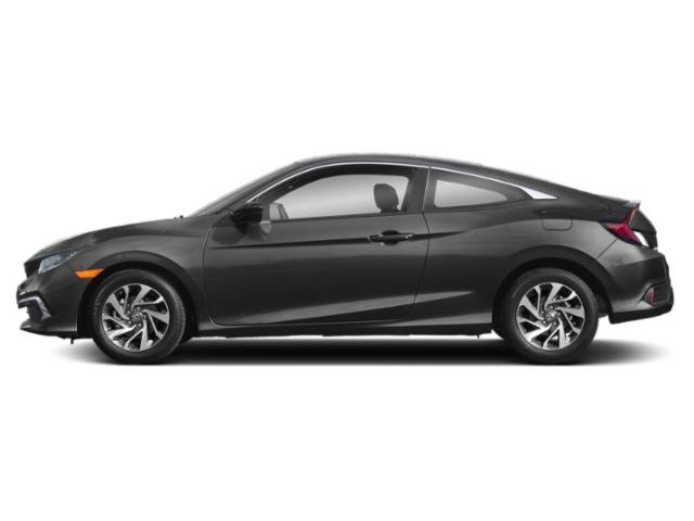 Modern Steel Metallic 2019 Honda Civic Coupe Pictures Civic Coupe LX CVT photos side view