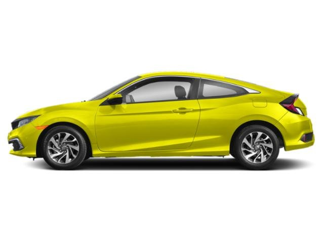 Tonic Yellow Pearl 2019 Honda Civic Coupe Pictures Civic Coupe LX CVT photos side view