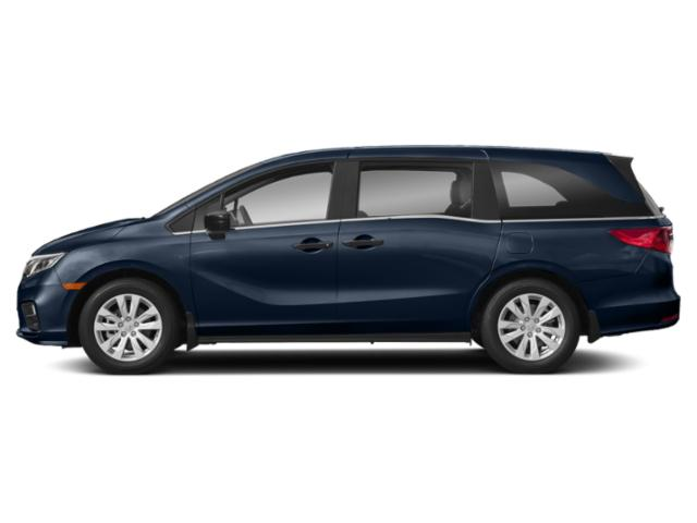 Obsidian Blue Pearl 2019 Honda Odyssey Pictures Odyssey LX Auto photos side view