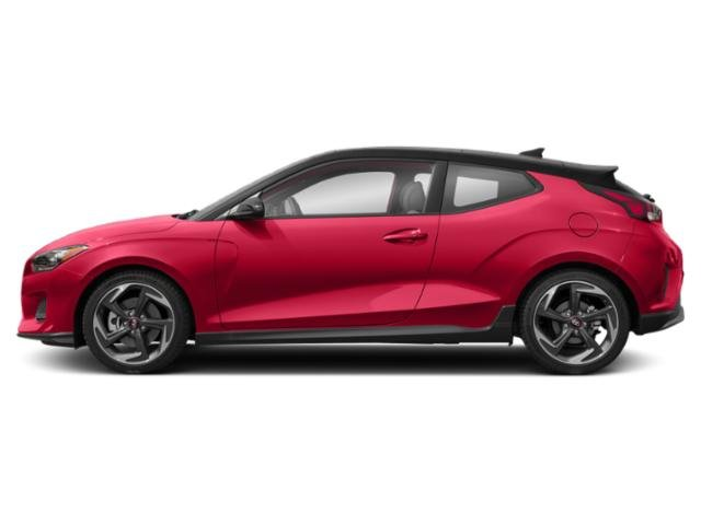 Racing Red w/Black Roof 2019 Hyundai Veloster Pictures Veloster Turbo Ultimate DCT photos side view