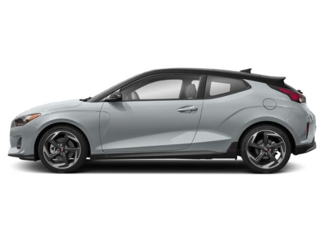 Sonic Silver 2019 Hyundai Veloster Pictures Veloster Turbo Ultimate DCT photos side view