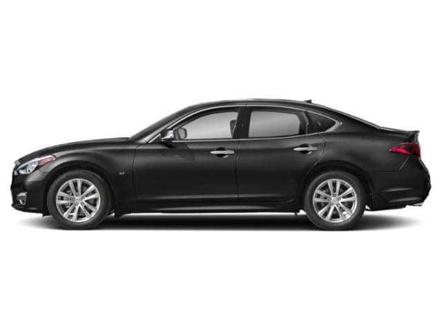 Black Obsidian 2019 INFINITI Q70 Pictures Q70 3.7 LUXE RWD photos side view