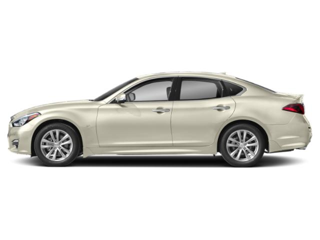 Majestic White 2019 INFINITI Q70 Pictures Q70 3.7 LUXE RWD photos side view