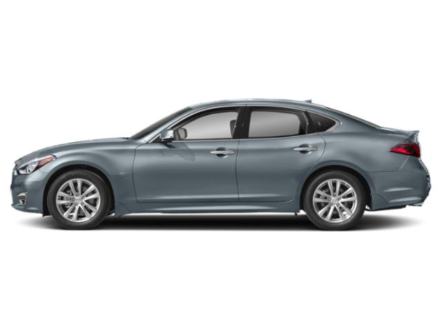 Hagane Blue 2019 INFINITI Q70 Pictures Q70 3.7 LUXE AWD photos side view
