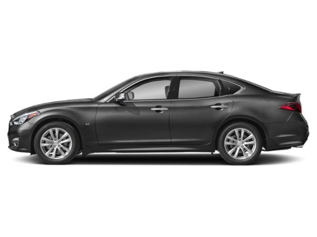 Graphite Shadow 2019 INFINITI Q70 Pictures Q70 5.6 LUXE RWD photos side view