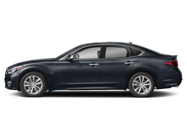 Hermosa Blue 2019 INFINITI Q70 Pictures Q70 5.6 LUXE RWD photos side view