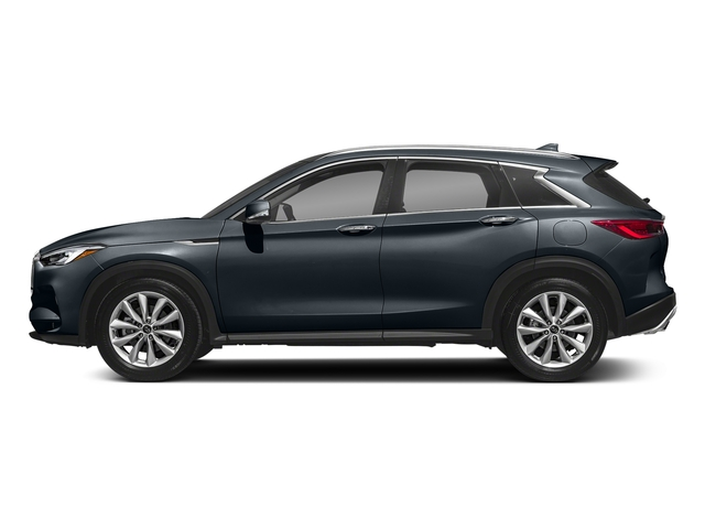 Hermosa Blue 2019 INFINITI QX50 Pictures QX50 LUXE FWD photos side view