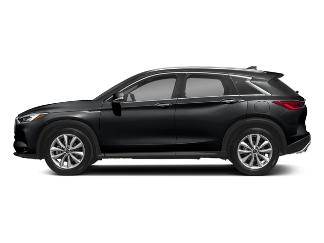 Eclipse Black 2019 INFINITI QX50 Pictures QX50 LUXE FWD photos side view