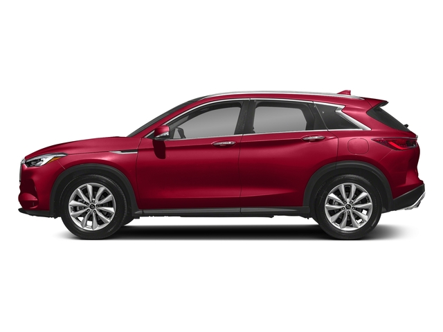 Dynamic Sunstone Red 2019 INFINITI QX50 Pictures QX50 LUXE FWD photos side view