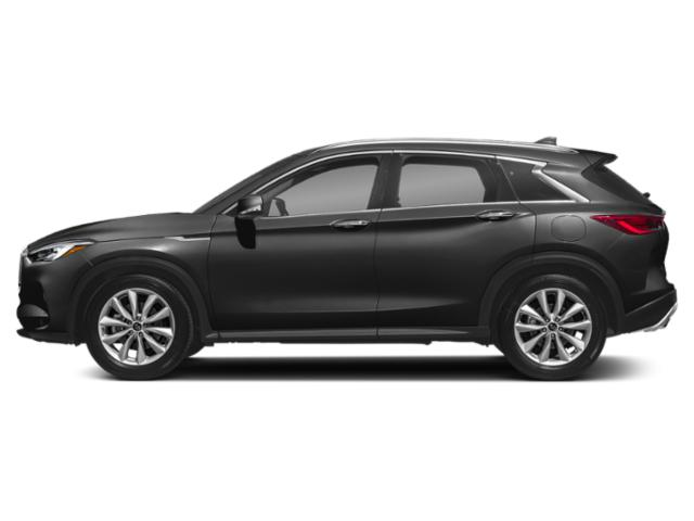 Graphite Shadow 2019 INFINITI QX50 Pictures QX50 PURE FWD photos side view