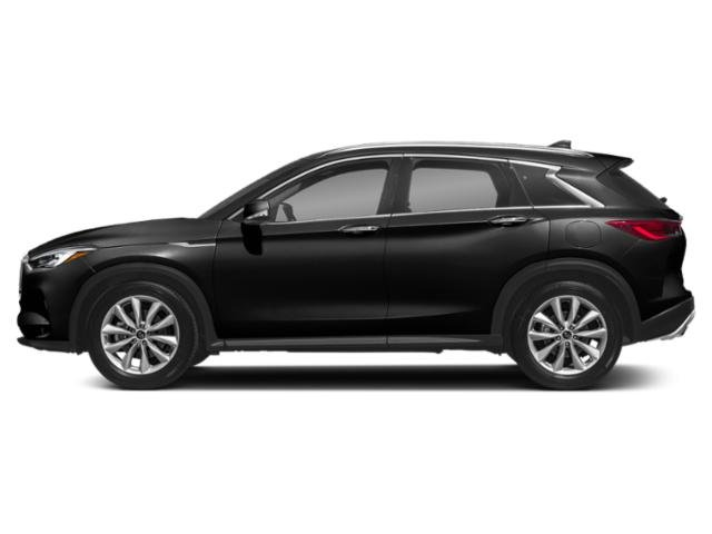 Black Obsidian 2019 INFINITI QX50 Pictures QX50 PURE FWD photos side view