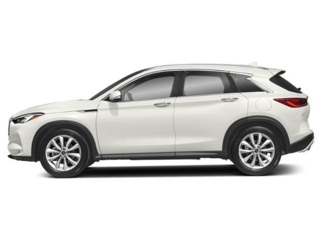 Lunar White 2019 INFINITI QX50 Pictures QX50 PURE AWD photos side view