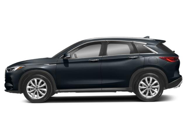 Hermosa Blue 2019 INFINITI QX50 Pictures QX50 PURE AWD photos side view