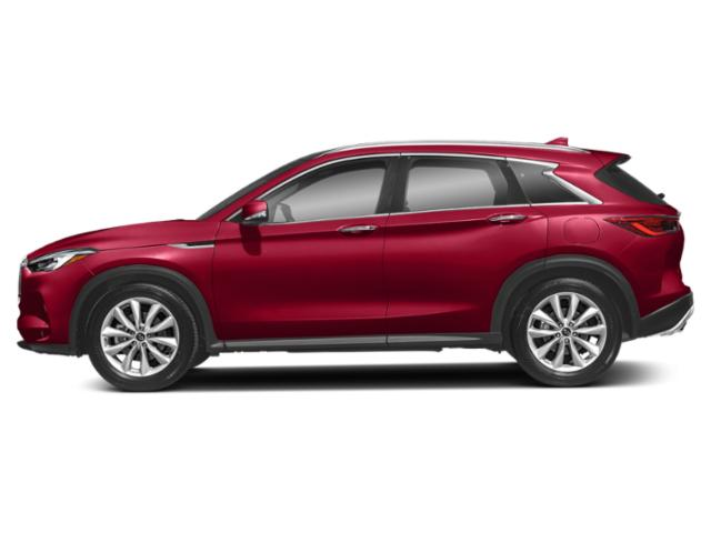 Dynamic Sunstone Red 2019 INFINITI QX50 Pictures QX50 ESSENTIAL AWD photos side view