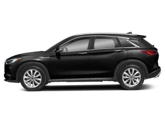 Black Obsidian 2019 INFINITI QX50 Pictures QX50 LUXE AWD photos side view