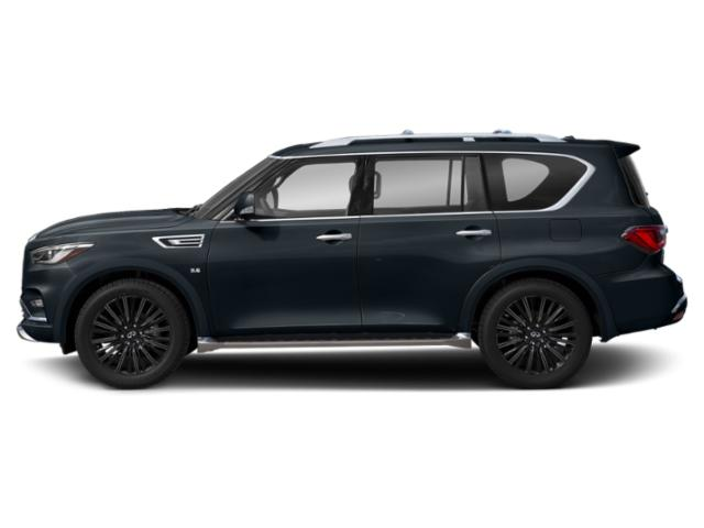 Hermosa Blue 2019 INFINITI QX80 Pictures QX80 LIMITED AWD photos side view
