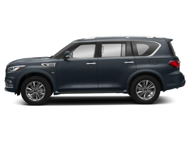 Hermosa Blue 2019 INFINITI QX80 Pictures QX80 LUXE AWD photos side view