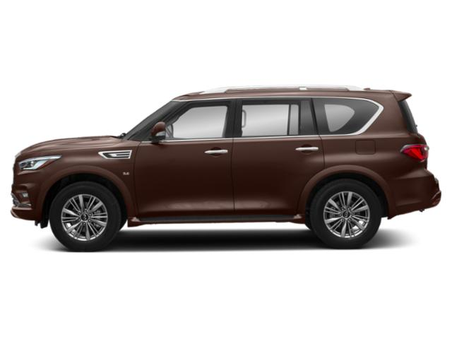 Mocha Almond 2019 INFINITI QX80 Pictures QX80 LUXE AWD photos side view