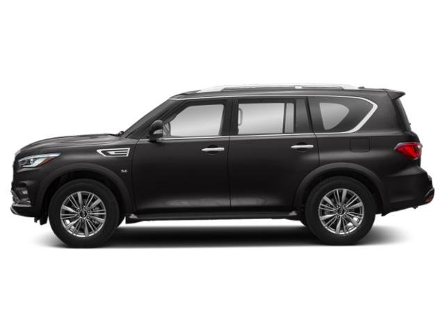 Mineral Black 2019 INFINITI QX80 Pictures QX80 LUXE AWD photos side view
