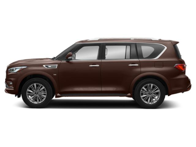 Mocha Almond 2019 INFINITI QX80 Pictures QX80 LUXE RWD photos side view