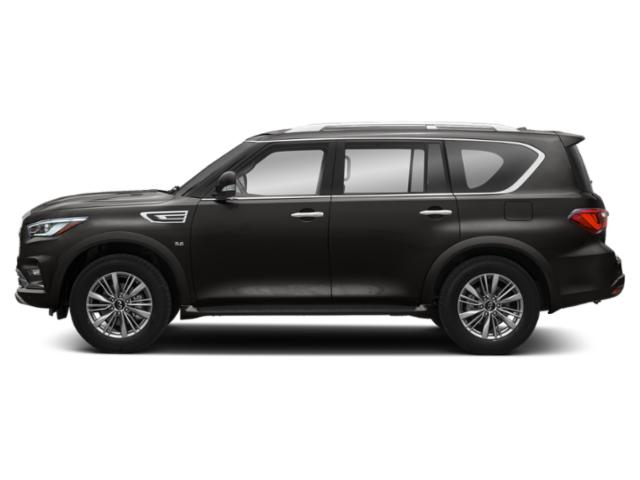 Mineral Black 2019 INFINITI QX80 Pictures QX80 LUXE RWD photos side view