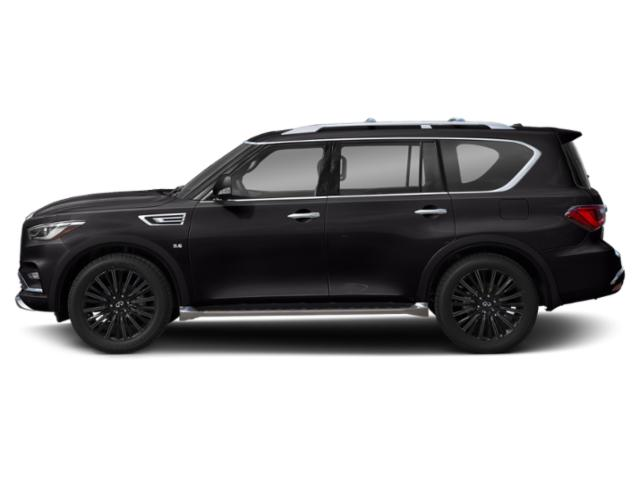 Mineral Black 2019 INFINITI QX80 Pictures QX80 LIMITED AWD photos side view