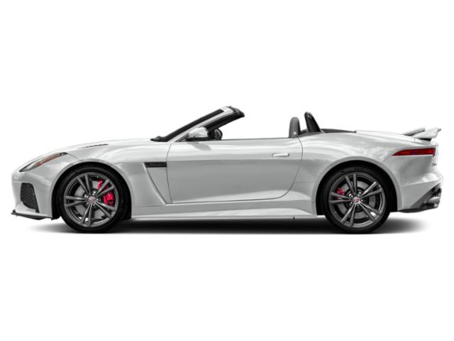 Indus Silver Metallic 2019 Jaguar F-TYPE Pictures F-TYPE Convertible Auto SVR AWD photos side view