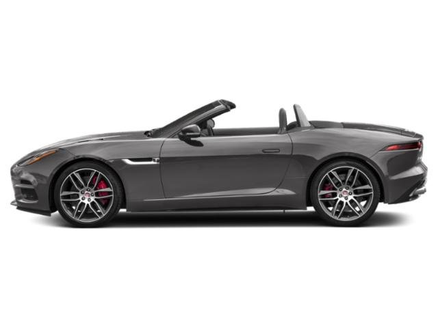 Corris Grey Metallic 2019 Jaguar F-TYPE Pictures F-TYPE Convertible Auto R-Dynamic photos side view