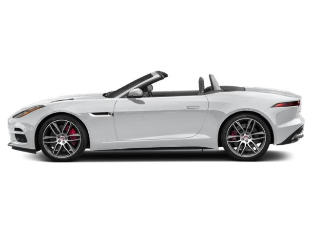 Yulong White Metallic 2019 Jaguar F-TYPE Pictures F-TYPE Convertible Auto R-Dynamic photos side view