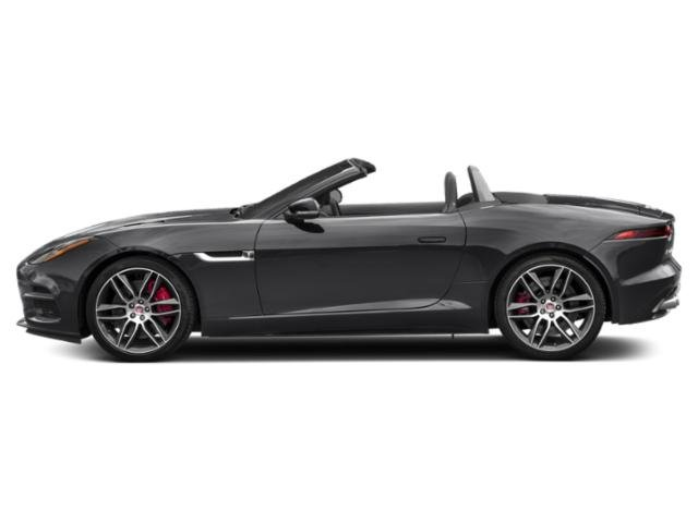 Narvik Black 2019 Jaguar F-TYPE Pictures F-TYPE Convertible Auto R-Dynamic photos side view