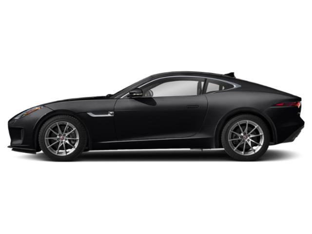 Narvik Black 2019 Jaguar F-TYPE Pictures F-TYPE Coupe Auto P300 photos side view