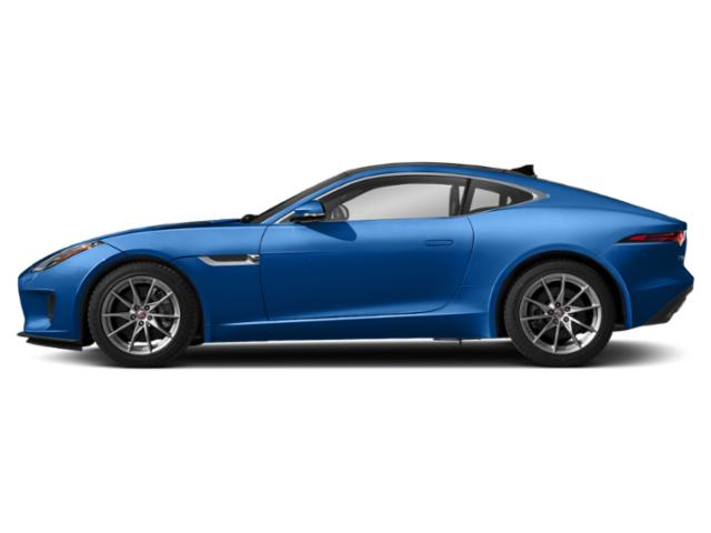 Ultra Blue Metallic 2019 Jaguar F-TYPE Pictures F-TYPE Coupe Auto P340 photos side view