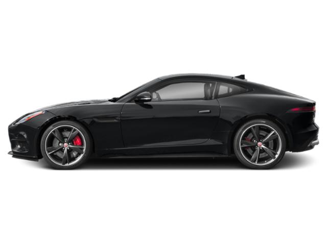 Santorini Black Metallic 2019 Jaguar F-TYPE Pictures F-TYPE Coupe Manual R-Dynamic photos side view