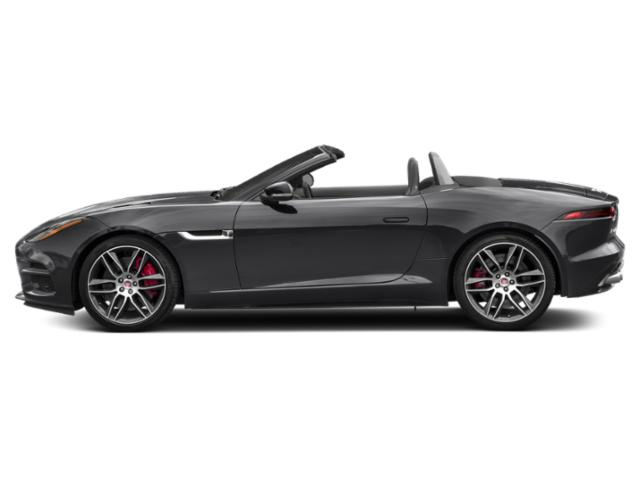 Narvik Black 2019 Jaguar F-TYPE Pictures F-TYPE Convertible Auto R AWD photos side view