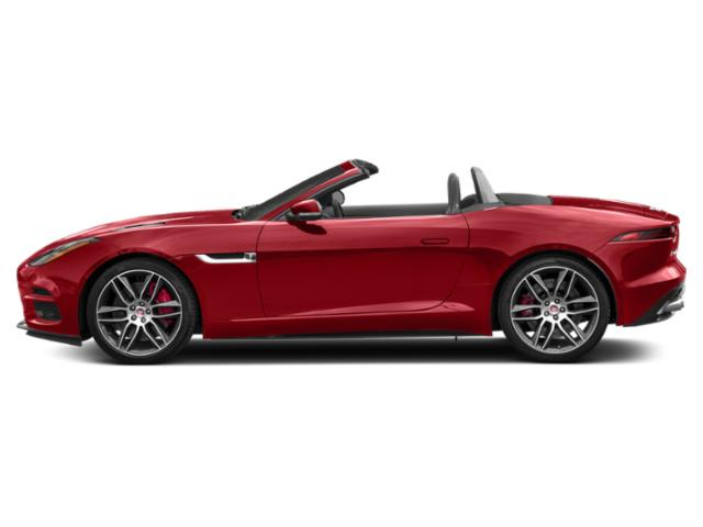 Caldera Red 2019 Jaguar F-TYPE Pictures F-TYPE Convertible Auto R AWD photos side view