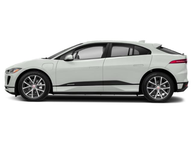 Polaris White 2019 Jaguar I-PACE Pictures I-PACE S AWD photos side view