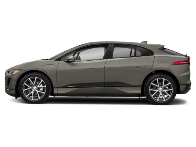 Silicon Silver Premium Metallic 2019 Jaguar I-PACE Pictures I-PACE S AWD photos side view