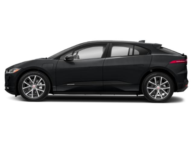 Ultimate Black Metallic 2019 Jaguar I-PACE Pictures I-PACE SE AWD photos side view