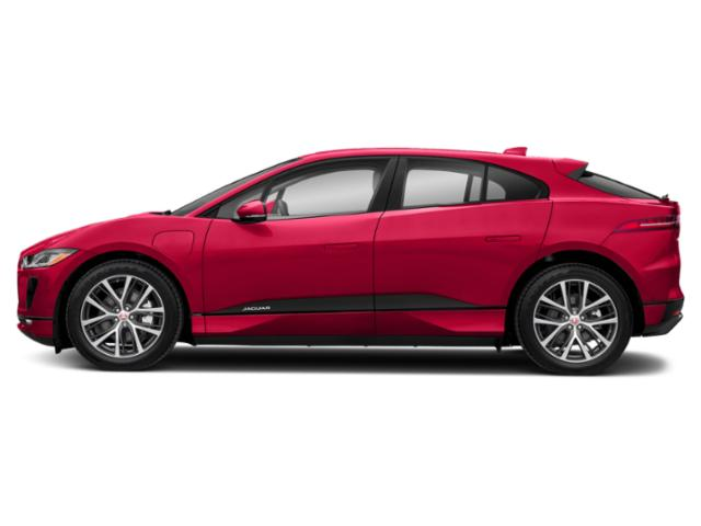 Photon Red 2019 Jaguar I-PACE Pictures I-PACE First Edition AWD photos side view