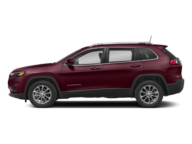 Velvet Red Pearlcoat 2019 Jeep Cherokee Pictures Cherokee Latitude Plus FWD photos side view