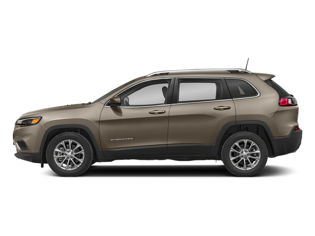 Light Brownstone Pearlcoat 2019 Jeep Cherokee Pictures Cherokee Latitude Plus FWD photos side view