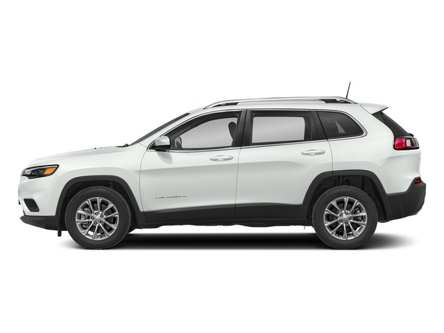 Bright White Clearcoat 2019 Jeep Cherokee Pictures Cherokee Latitude Plus FWD photos side view