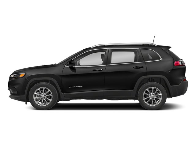 Diamond Black Crystal Pearlcoat 2019 Jeep Cherokee Pictures Cherokee Latitude Plus FWD photos side view